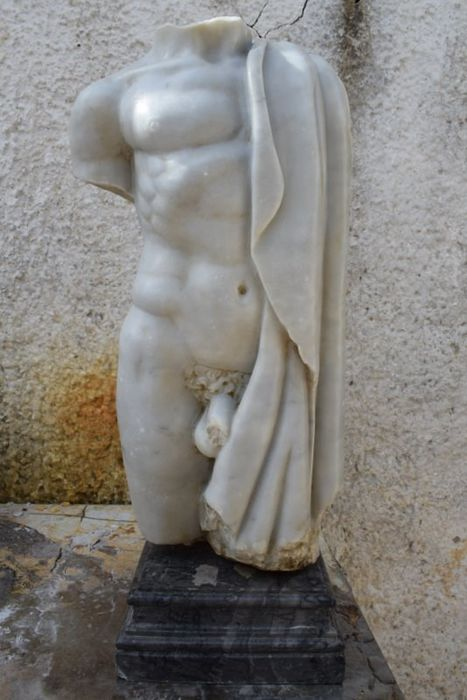 Bad torso in Carrara marble - Marble - Second half 20th century