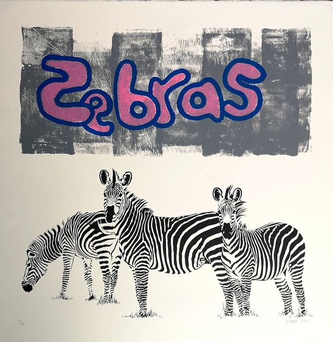 Zanda - Buff Zebra (hand finished)