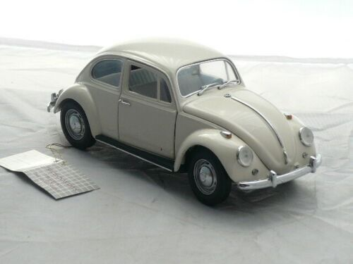 Franklin Mint - 1:24 - Volkswagen  - Classic beetle, model 1967, with tag