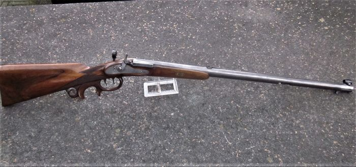 Austria - Unger - Target Rifle - Single Shot - Fuego central - Rifle - 6mm Cal