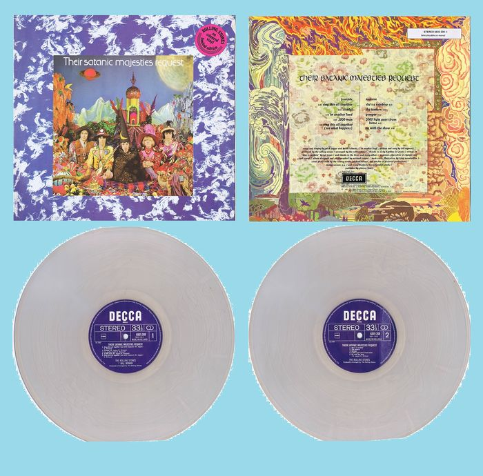 Rolling Stones, Rolling Stones - Their Satanic Majesties Request (clear vinyl!) - Album LP - 1977/1977