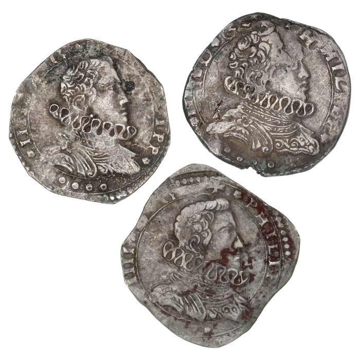 Italy - Kingdom of Sicily - 4 Tari 1645-1651 - Silver