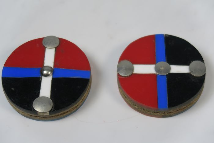Ear rings (1) - perspex nails and others - Msingha - zulu - South Africa