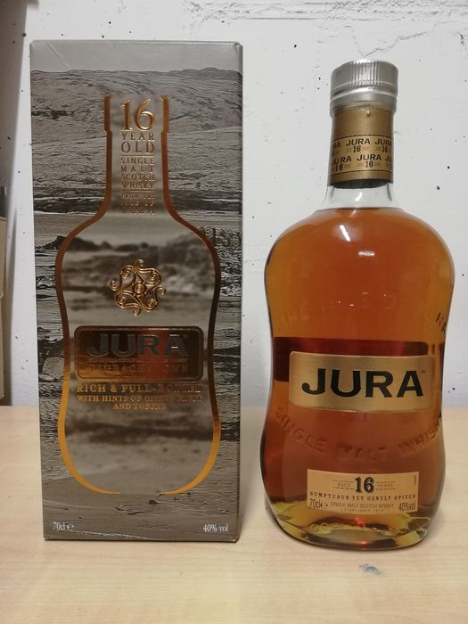 Isle of Jura 16 years old - Original bottling - 0,7ltr