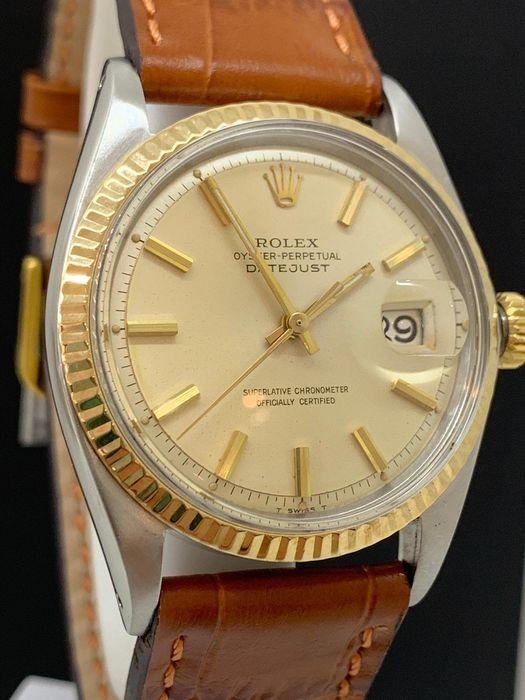 Rolex - Oyster Perpetual Datejust - 1601 - Heren - 1960-1969