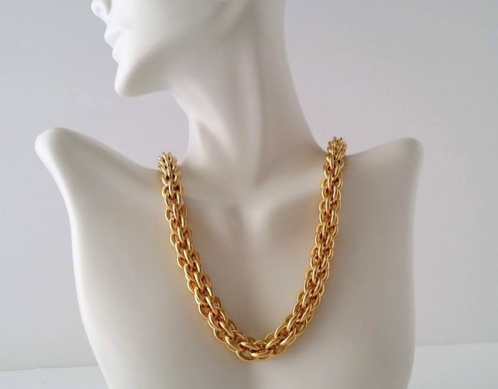 Givenchy Braided Chain Necklace