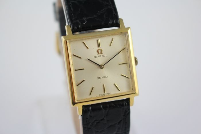 Omega - DeVille Dress Slim Manual Winding Wristwatch - 111.024 - Homme - 1960-1969