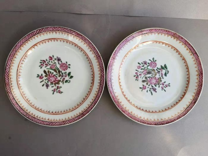 Platos - Porcelana - China - siglo XVIII