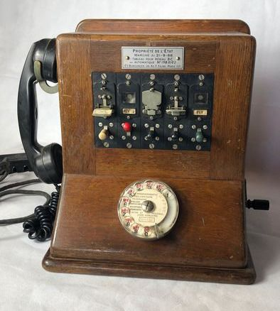 Telephone system, 1960s - Wood