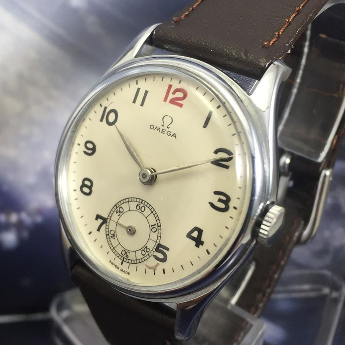 """Omega - Rare Watch Steel Cal. 26.5 SOB T2 - """"NO RESERVE PRICE"""" - Homme - 1901-1949"""