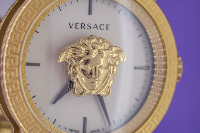 Versace - Palazzo Empire Watch Two Tone Stainless Steel and Gold Swiss Made - VERD00418 - Men - Brand New