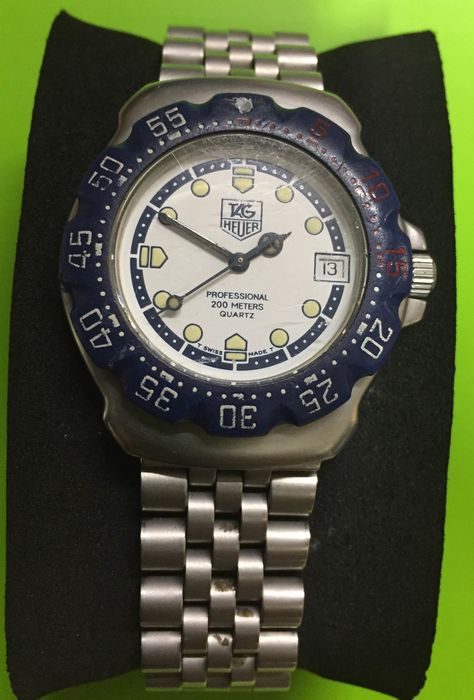 TAG Heuer - Professional 200Meters - Ref. WA1219 - Men - 2000-2010
