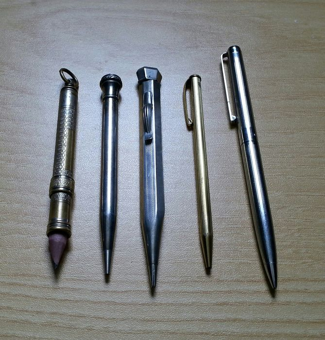 Papermate, Kanoes Peace, Wahl Ewesharp, anonime. - Mechanical pencil - couple of 5