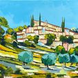 Modern Art Auction (French Landscapes & Still Lifes)