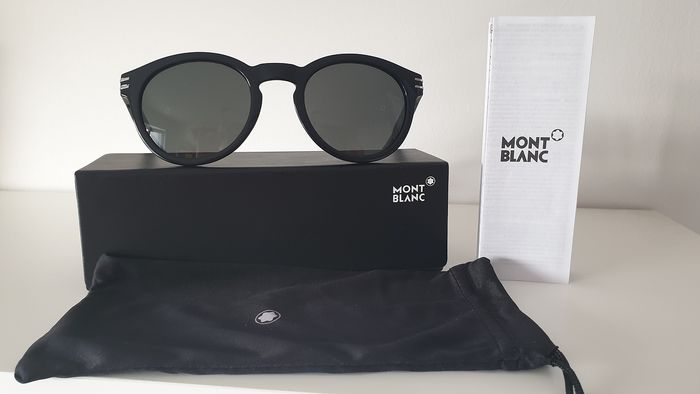 Montblanc - MB642S C51 Smoke mirrored ZEISS lenses  Sunglasses