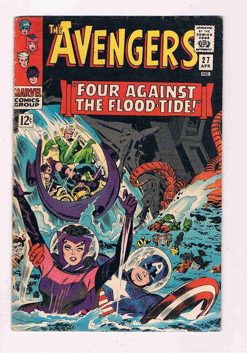 The Avengers  27 - four against the flood- tide - Softcover - Erstausgabe - (1966)