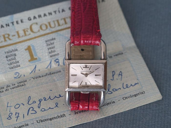 """Jaeger-LeCoultre - """"NO RESERVE PRICE"""" Etrier - Original certificate - Serviced - Mujer - 1960-1969"""
