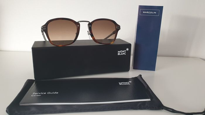 Montblanc -  Montblanc MB659S C47  mirrored ZEISS lenses  Sunglasses