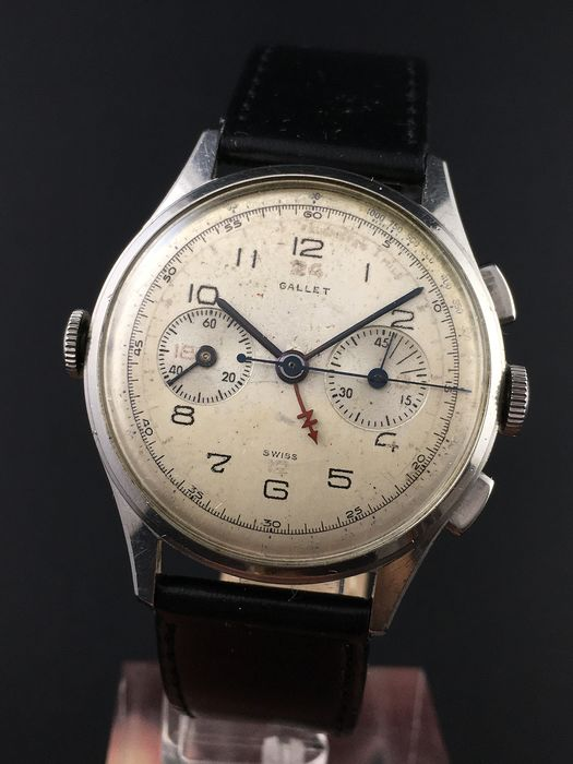 Gallet - Multichron Navigator GMT - Men - 1901-1949