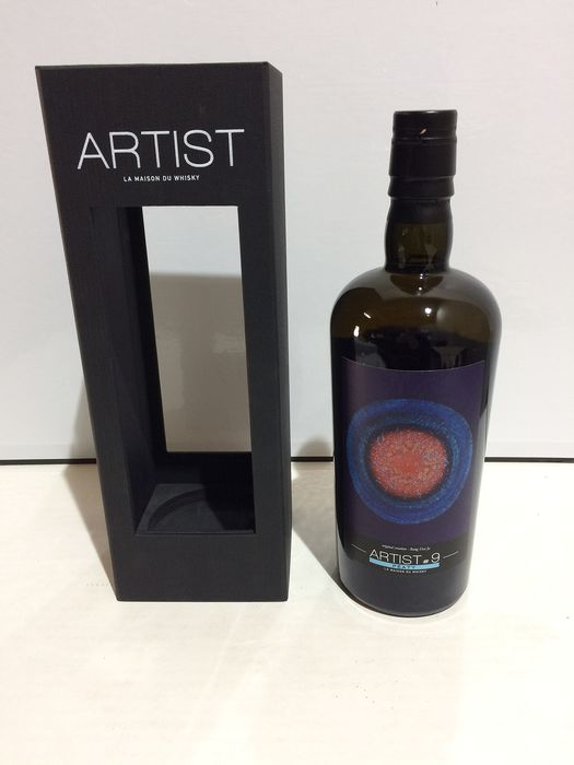Laphroaig 1998 20 years old Artist # 9 - one of 265 bottles - La Maison du Whisky - b. 2019 - 70cl
