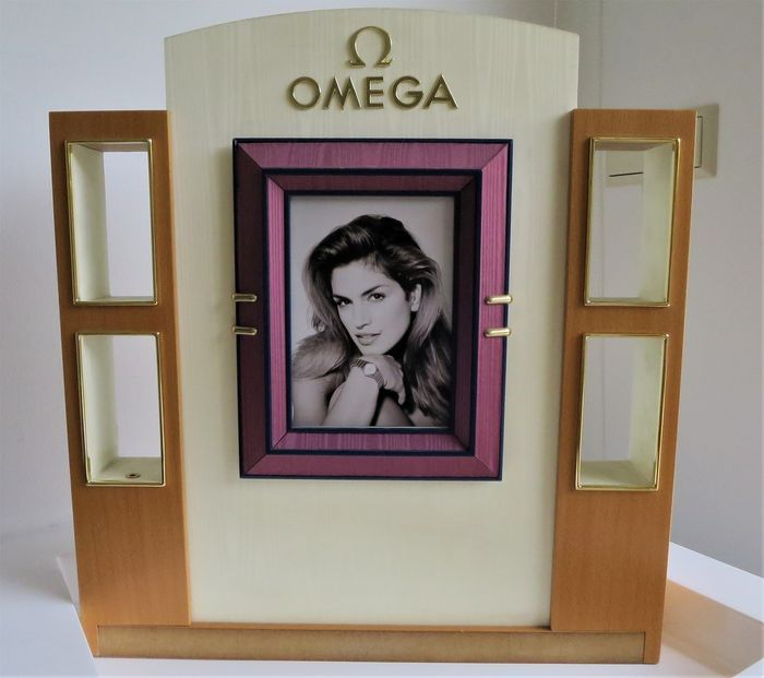 "Omega - Display ""Cindy Crawford"" - Unisex - 2000 - 2010"