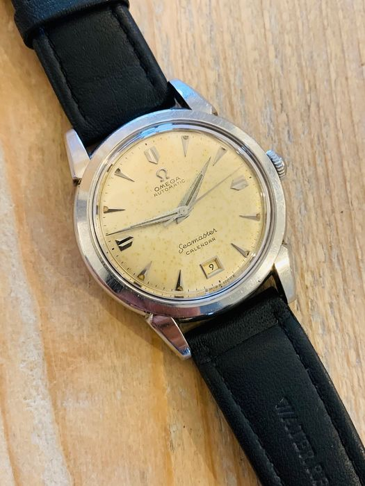 Omega - very rare - automatic seamaster calendar - date at 6 - 2627-4 SC - Hombre - 1950-1959