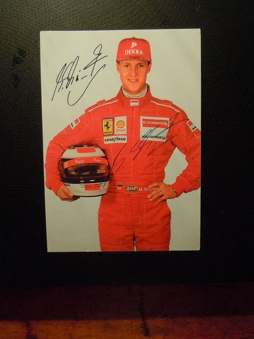 Formula 1 - Formula One - Michael Schumacher - Photograph