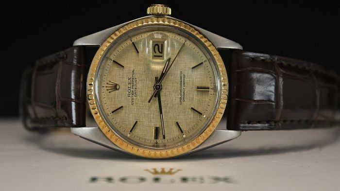 Rolex - Oyster Perpetual Datejust - 1601 - Unisex - 1980-1989