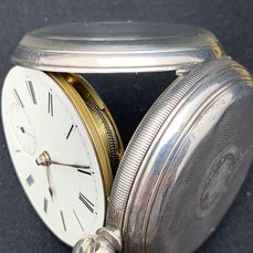 Fusee pocket watch  - NO RESERVE PRICE  - Herre - 1872