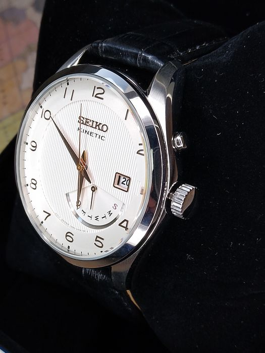Seiko - SEIKO KINETIC SRNO49P1  - 99 - Heren - 2011-heden
