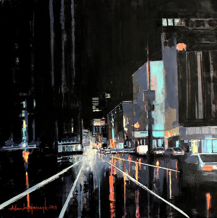 Adam Wajerczyk - New York night