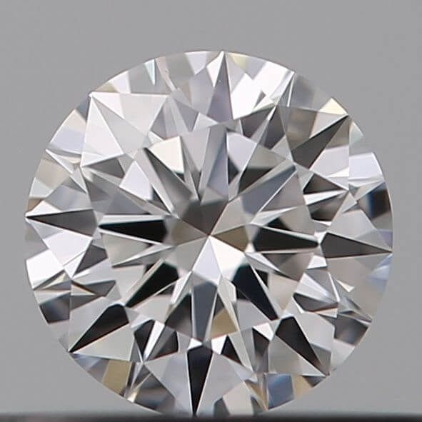 1 pcs Diamant - 0.20 ct - Brillant - D (incolore) - VVS2