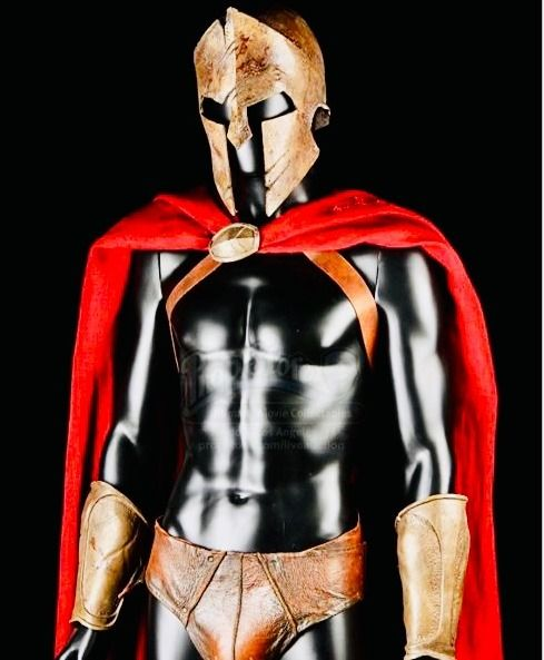 300 (2006)  - Original stunt costume worn by the Warriors of King Leonidas (Gerard Butler) in the movie - with COA