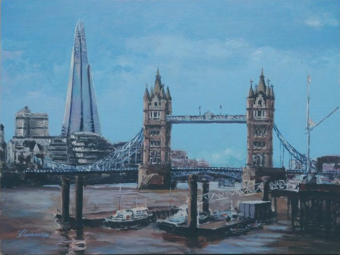 Nadiya Tokarska  - Shard and Tower Bridge London