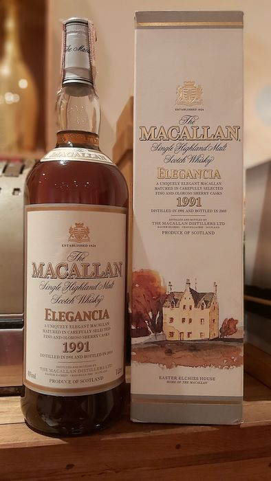 Macallan 1991 12 years old Elegancia  - 1.0 Litre