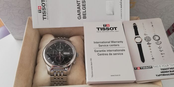 Tissot - Le Locle Automatic Chrono Mens Watch - L168/268 - Hombre - 2000 - 2010