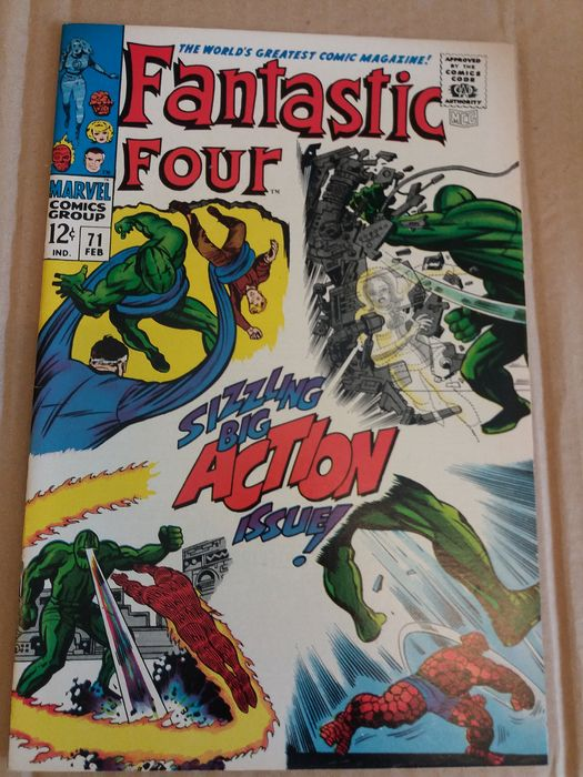 fantastic four  71 - - - Softcover - First edition - (1967)
