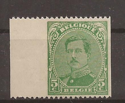 Bélgica 1915 - imperforate left/right sheet edge - OBP / COB 137