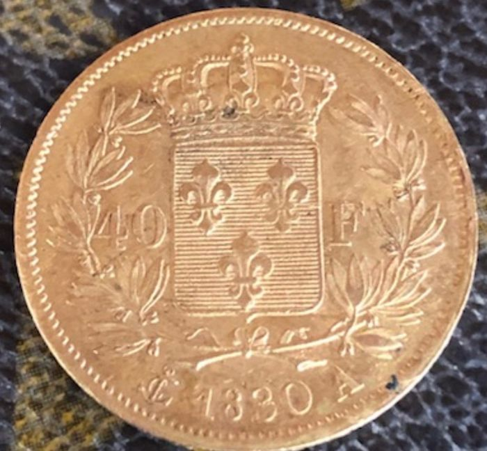 40 Francs 1830-A Charles X - Or