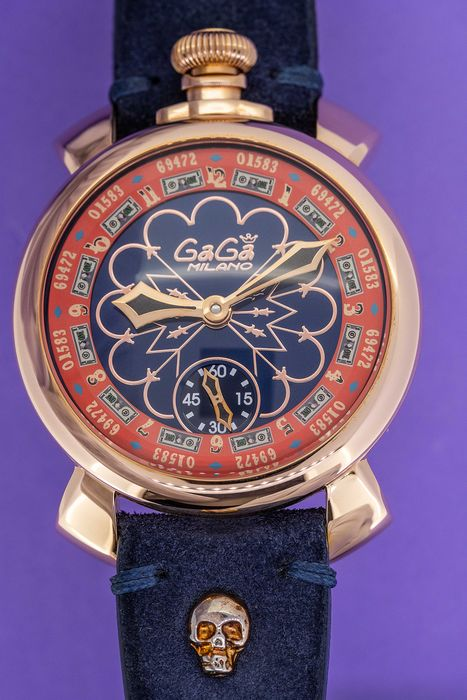 GaGà Milano - Mechanical Las Vegas Manuale 48MM LIMITED EDITION Swiss Made - 5011LV02 - Homme - Brand New