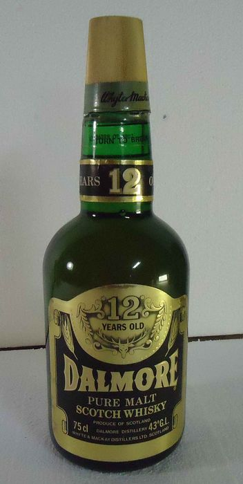 Dalmore 12 years old - Original bottling - b. Anni '70 - 75cl