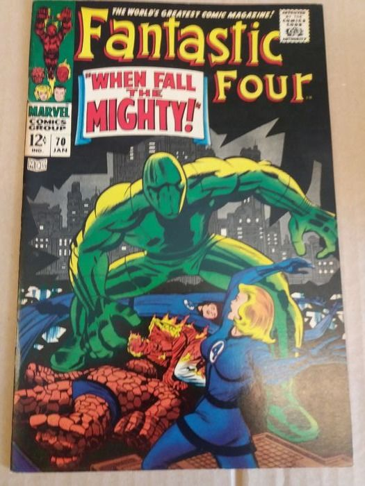 fantastic four  70 - when fall the mighty - Softcover - First edition - (1967)