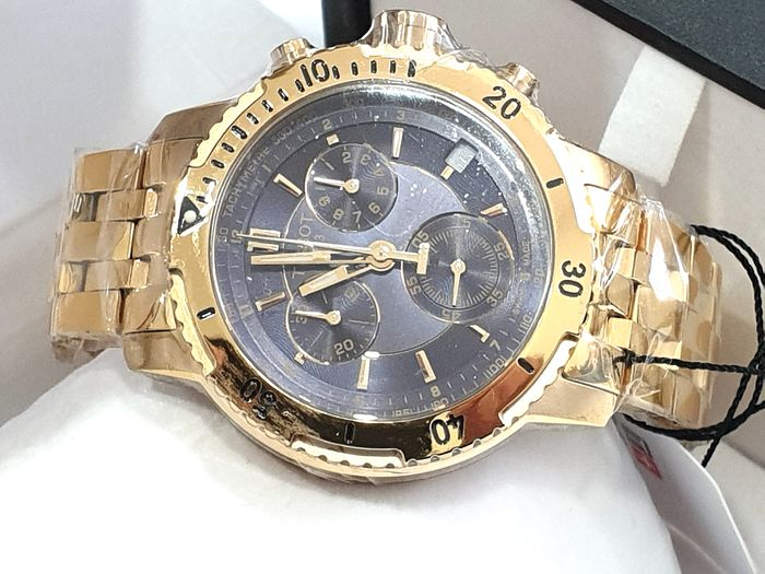 Tissot - PRS200 Chronograph - Stainless Steel Gold Plated 18K - T067.417.33.041.00 - Swiss Made Movement - Men - 2011-present