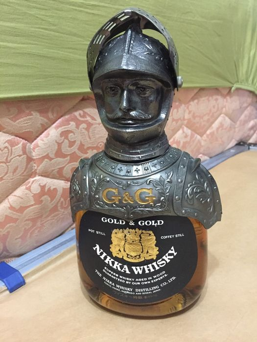 Nikka Gold & Gold Knight - 750ml