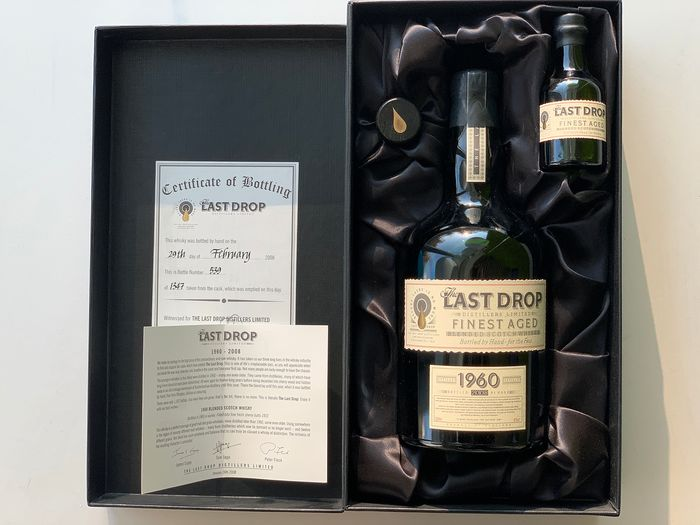 The Last Drop Distillers Limited 1960 48 years old - The Last Drop Distillers Limited - 700 ml
