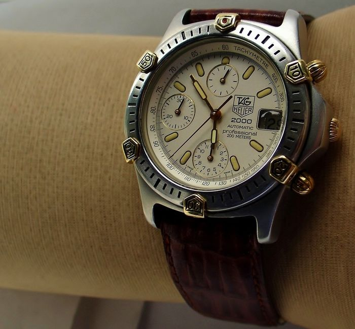 TAG Heuer - 2000 Professional 200M Chronograph - Ref. 165.806 - Hombre - 2000 - 2010