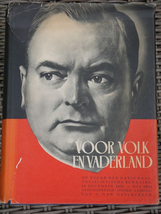 """Netherlands - NSB book """"For People and Fatherland"""", 1941"""