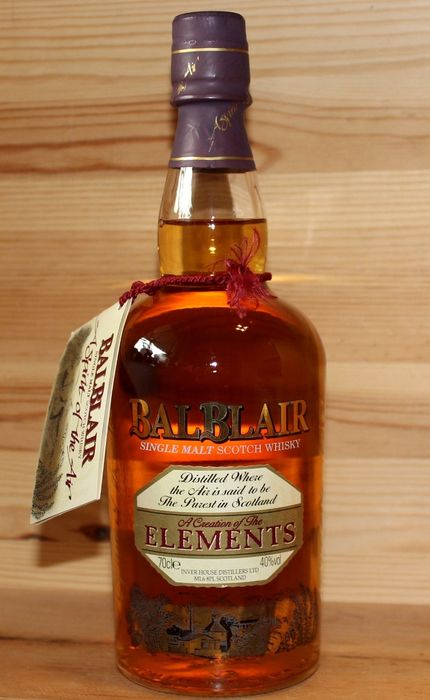 Balblair Elements, original old bottling - 70cl