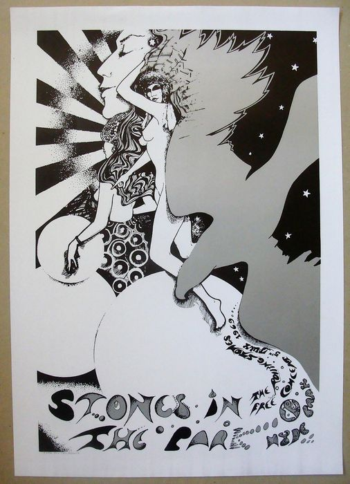 Rolling Stones - The Stones in the Park London 1969 - Reprint poster (Reissue) - 1969/1980