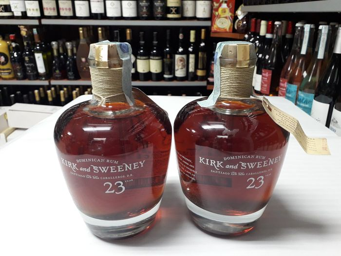 Kirk and Sweeney 23 years old - 70cl - 2 bottles